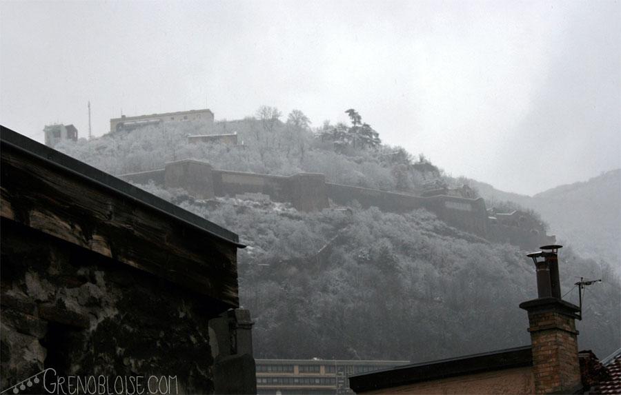 la bastille enneigée, 2011