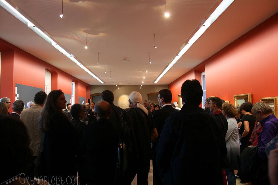 Vernissage au Musée Hébert