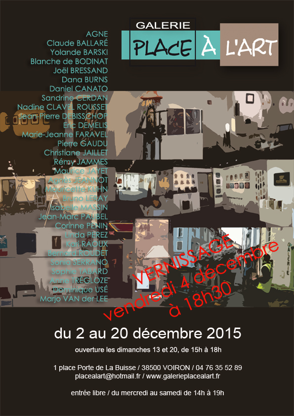place a l'art _expo de noel 2015