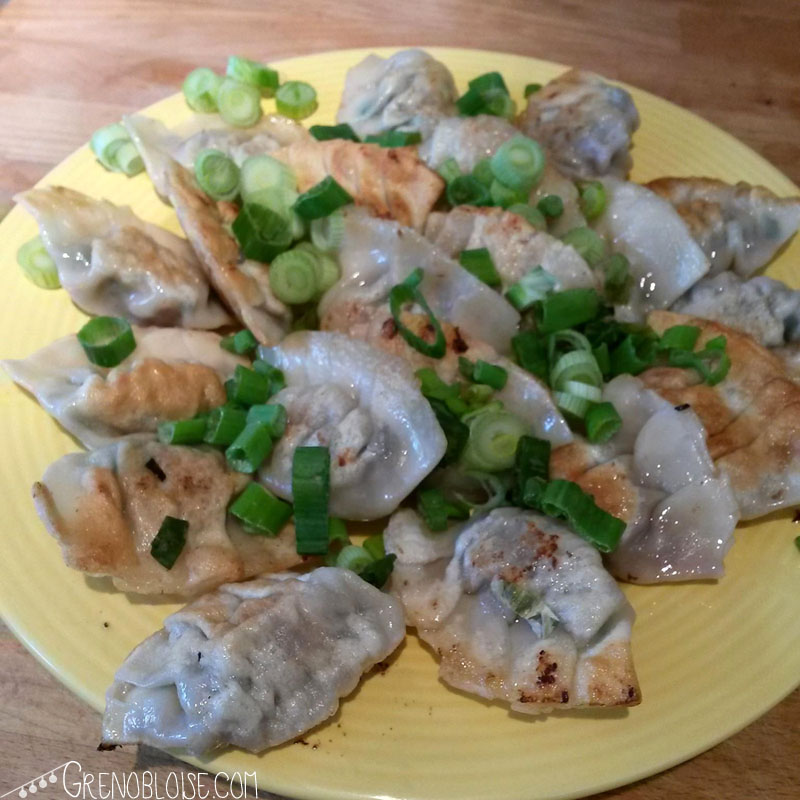 """Homemade """"Mandu"""". Now this would be worth paying a euro each for, maybe!"""